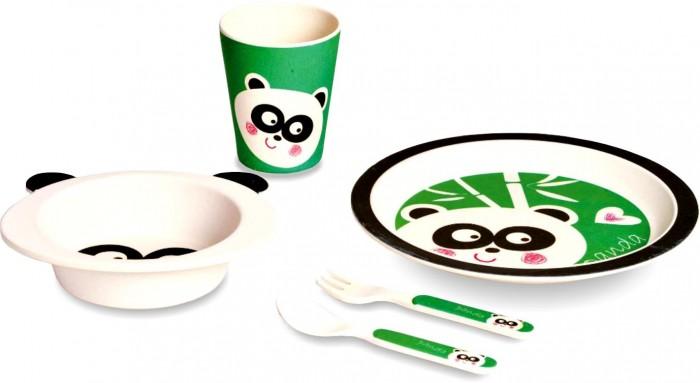 Eco-baby Бамбуковая посуда для детей Панда