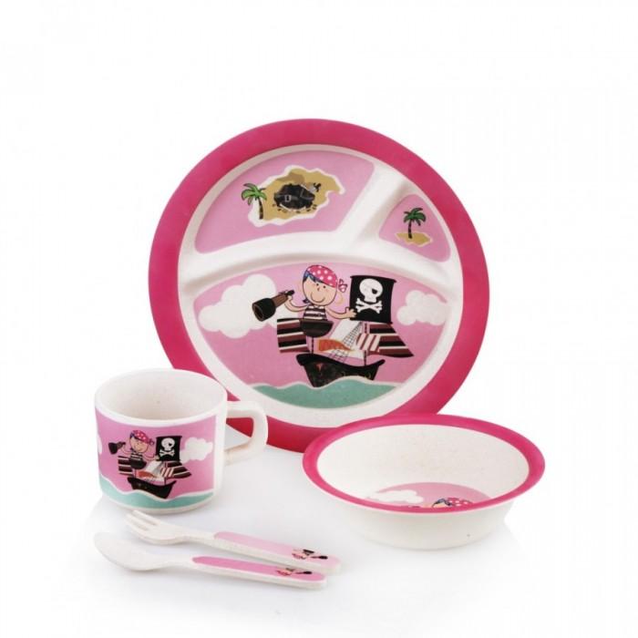 Посуда Eco-baby Бамбуковая посуда для детей Пираты