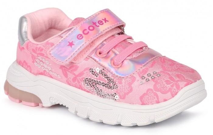 Кроссовки Ecotex Star Кроссовки со светодиодами для девочки 7-06 кроссовки ecotex star кроссовки со светодиодами для девочки 7 06