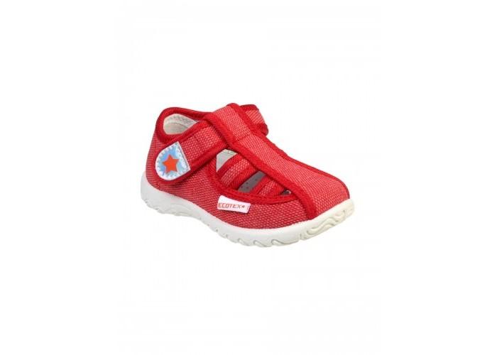 Босоножки и сандалии Ecotex Star Сандали текстильные для девочки 3-206TF кроссовки ecotex star кроссовки со светодиодами для девочки 7 06