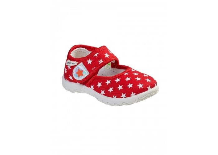 Купить Босоножки и сандалии, Ecotex Star Сандали текстильные для девочки 3-210TF