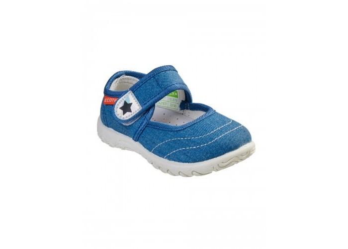 Купить Босоножки и сандалии, Ecotex Star Сандали текстильные для девочки 3-216TF