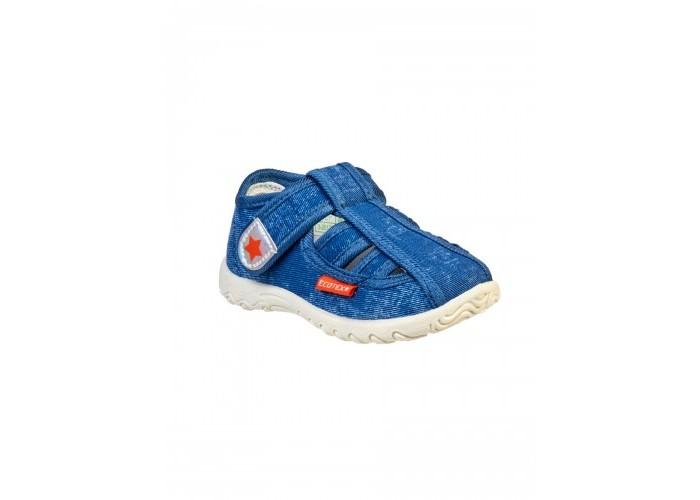 Купить Босоножки и сандалии, Ecotex Star Сандали текстильные для мальчика 3-201TF