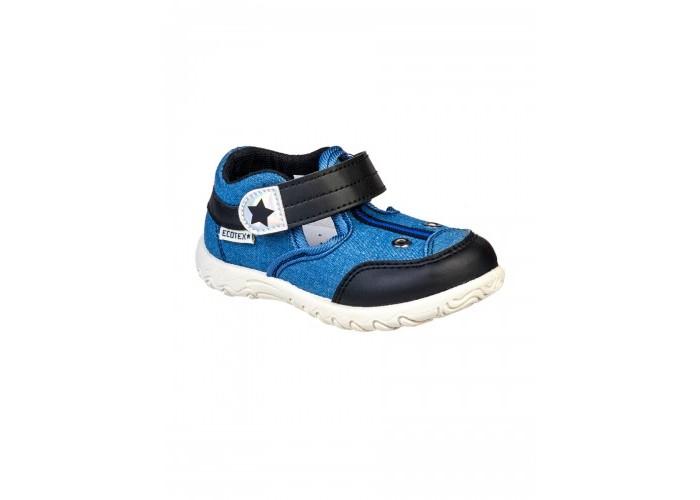 Купить Босоножки и сандалии, Ecotex Star Сандали текстильные для мальчика 3-202TF