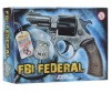 Edison Игрушечный Пистолет FBI Federal Metall Police 12,5 - Edison Пистолет FBI Federal Metall Police 12,5