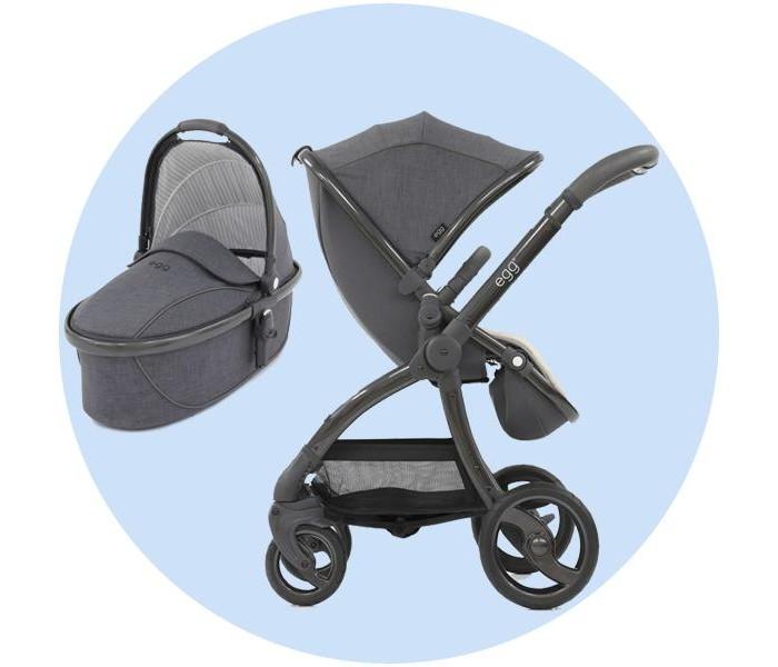 Прогулочная коляска Egg Stroller c люлькой Carrycot
