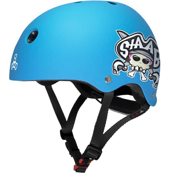 Шлемы и защита Triple Eight Шлем защитный Lil 8 Staab