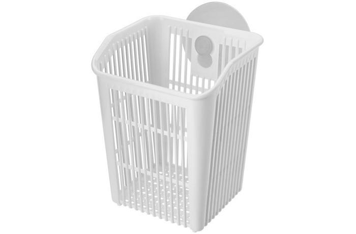 Картинка для Посуда и инвентарь Эконова Держатель подвесной на присосе Helper 9.4х9.5х12.1 см