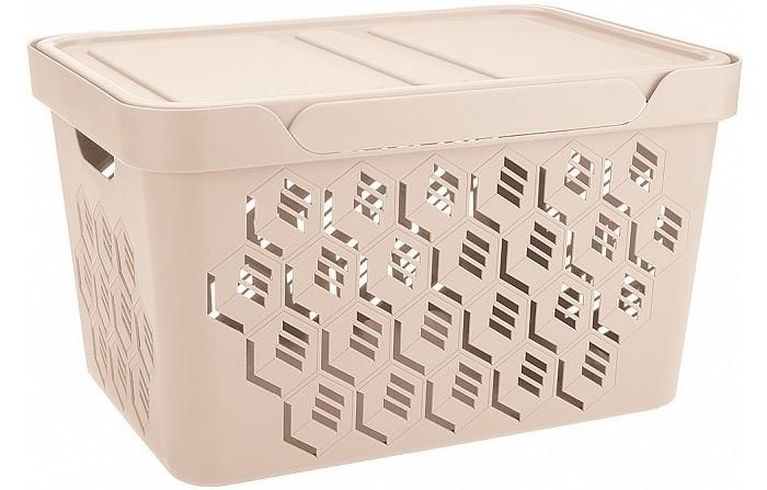 Картинка для Хозяйственные товары Эконова Ящик универсальный с крышкой Deluxe 18 л