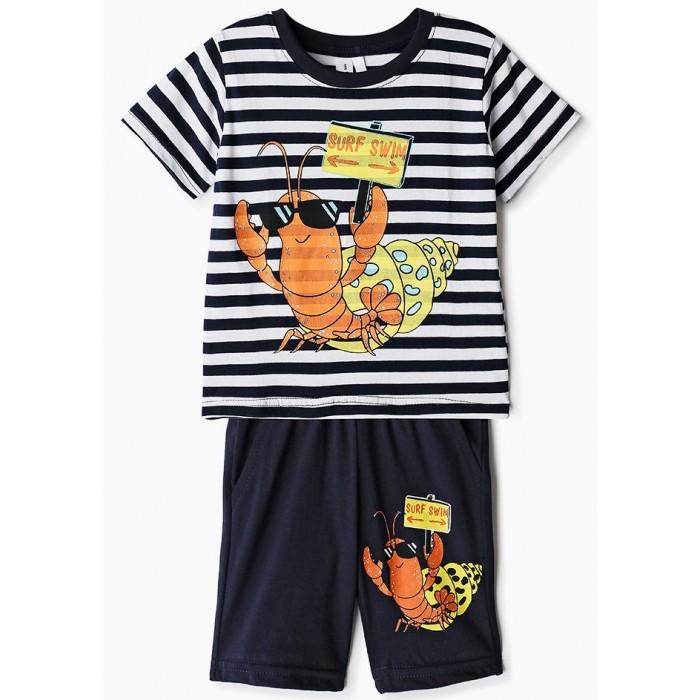 Комплекты детской одежды Elaria Комплект для мальчика BKS01-7 комплекты детской одежды elaria комплект для мальчика футболка и шорты bks01 8