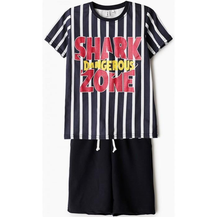 Комплекты детской одежды Elaria Комплект для мальчика Футболка и шорты BS01-5 комплекты детской одежды elaria комплект для мальчика футболка и шорты bks01 8
