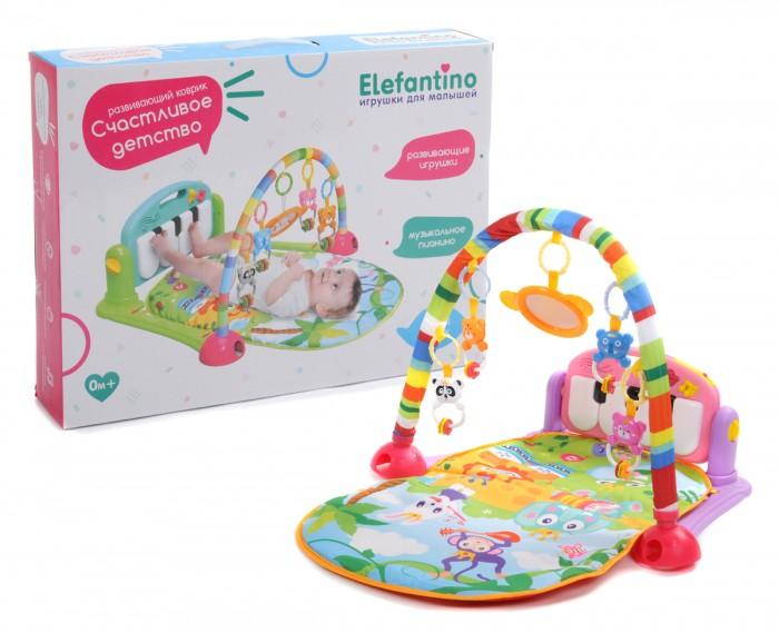 Развивающий коврик Elefantino Счастливое детство