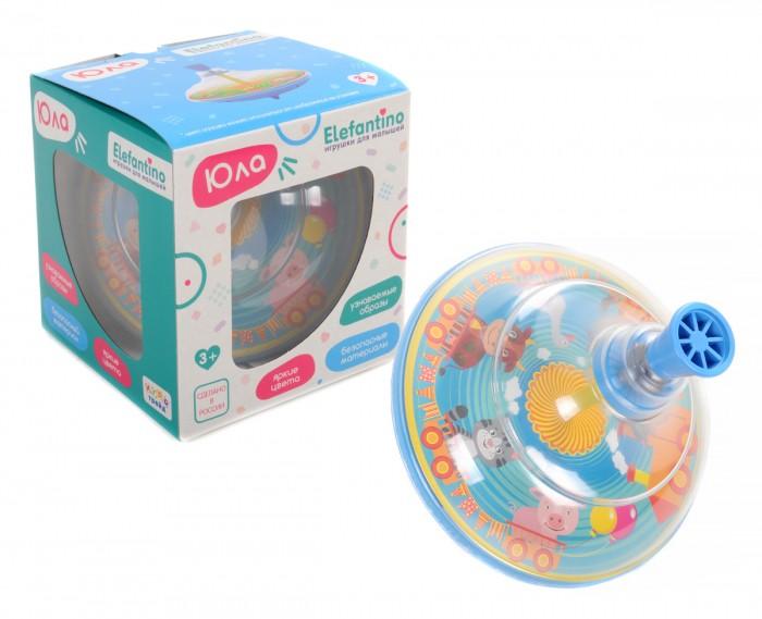 Развивающие игрушки Elefantino Юла Домашние животные 12.5 см