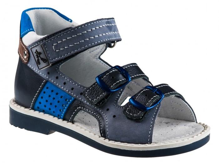 Босоножки и сандалии Elegami Туфли открытые для мальчика 806151901 босоножки и сандалии elegami туфли для девочки 6 61392190