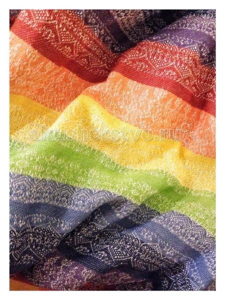 Слинг Ellevill Gaia с кольцами, хлопок-лен MGaia с кольцами, хлопок-лен MEllevill - это слинг-шарфы и слинги с кольцами из Норвегии. Разработанные на основе традиционных норвежских орнаментов и выполненные вручную, слинги быстро завоевали популярность по всему миру. Они покоряют своим прекрасным дизайном и универсальностью в носке: слинги Ellevill подходят для всех возрастов (и для новорожденных, и для подросших деток), и для всех сезонов.  Слинги Ellevill производятся вручную, из ткани, специально разработанной для ношения детей. Эта ткань - специального жаккардового диагонального плетения, она очень хорошо тянется по диагонали, но почти не тянется по вертикали и горизонтали. Она как бы обнимает малыша и обеспечивает наибольший комфорт в носке.  Прекрасная поддержка и комфорт в ношении тяжелых деток, холодящий эффект льна.  Слинг с кольцами (ССК) - особенно удобен для ношения новорожденных и маленьких деток, для кормления и укачивания на сон (ребенка легко переложить из ССК в кроватку). Он также пригодится для ношения на бедре подросших деток на небольшие расстояния - на одном плече не очень удобно носить долго, но зато удобно часто сажать и вынимать малыша. Слинги с кольцами производятся из шарфовой ткани Ellevill, c центральным сложением плеча, с большими литыми алюминиевыми кольцами.   Состав: 50% хлопок, 50% лен Размер: М (44-48)<br>