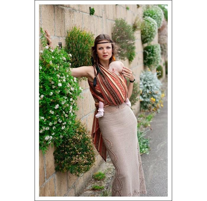 Слинги Ellevill Zara Tricolor шарф, хлопок чартер для всех
