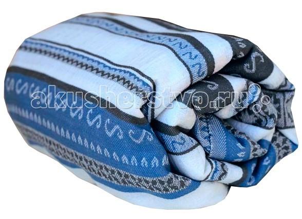 Слинг Ellevill Zara Tricolor шарф, хлопок-лён (5.2 м)