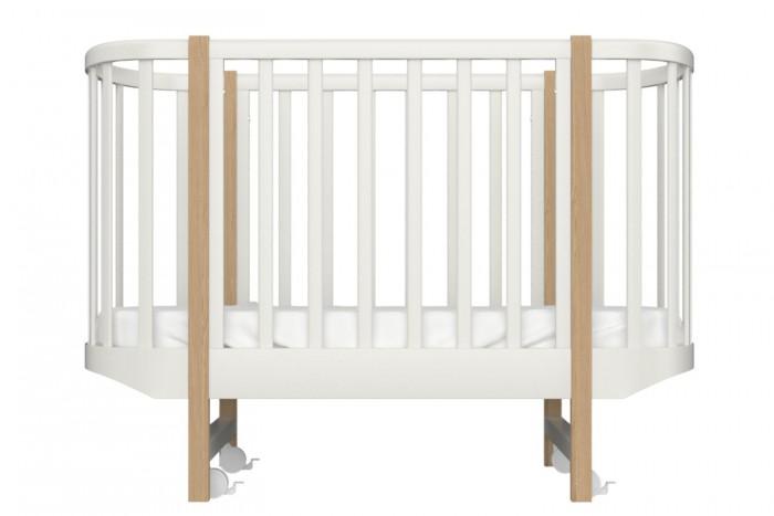Детские кроватки Ellipse Classic бук 125х70