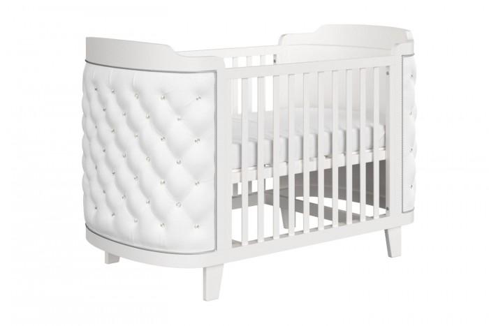 Кроватка-трансформер Ellipse Elegance эко-кожа 140х70