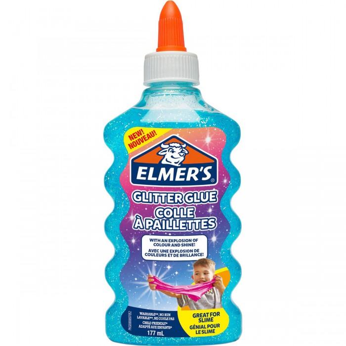 Наборы для творчества Elmers Клей для слаймов с блестками 177 мл