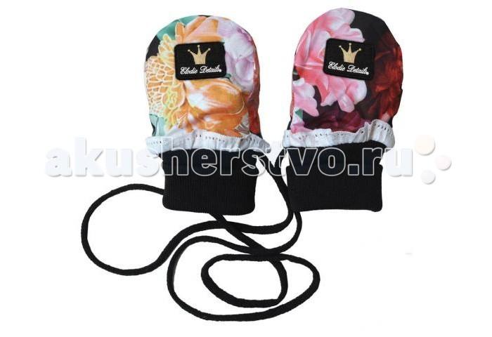 Варежки, перчатки и шарфы Elodie Details Варежки на шнурке варежки  перчатки и шарфы jollein шарф confetti knit