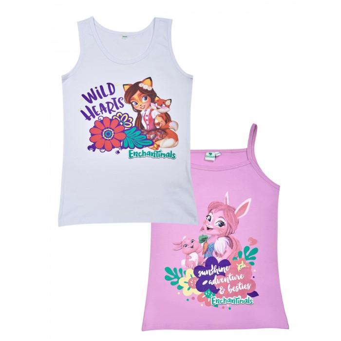 Белье и колготки Enchantimals Комплект маек для девочки КМ-1Д21 2 шт.