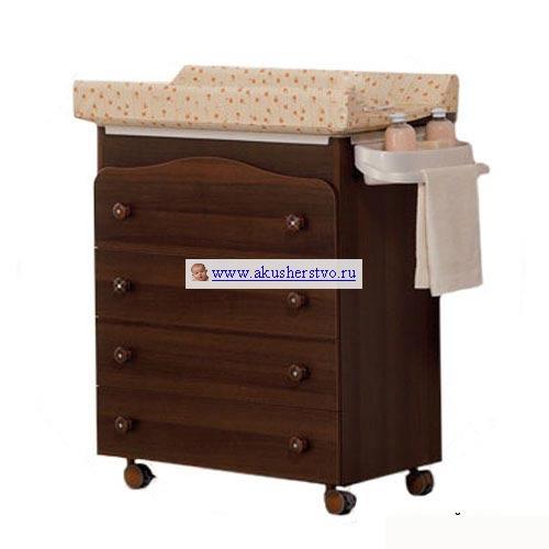 Комод Baby Italia Baby Bath пеленальный (4 ящика)