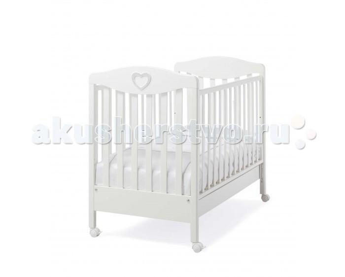 Детские кроватки Erbesi Cuoricino со стразами Swarovski