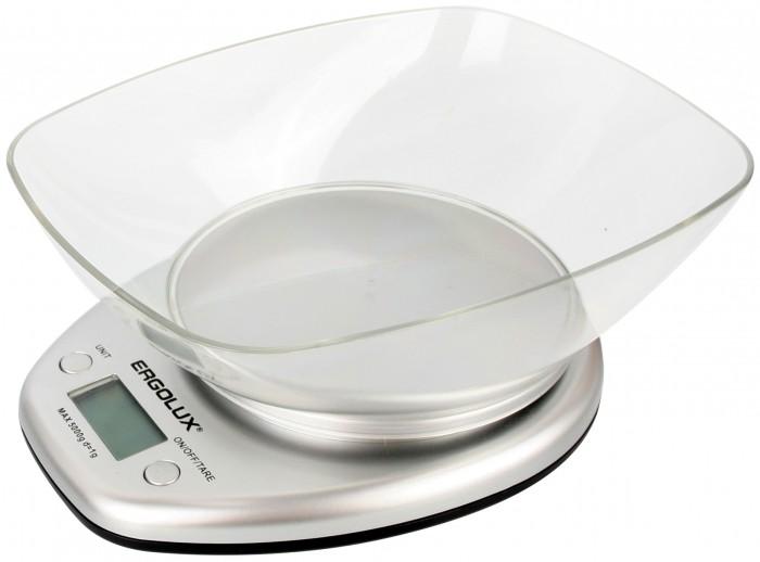 Кухонные весы Ergolux Весы кухонные со съемной чашей ELX-SK04