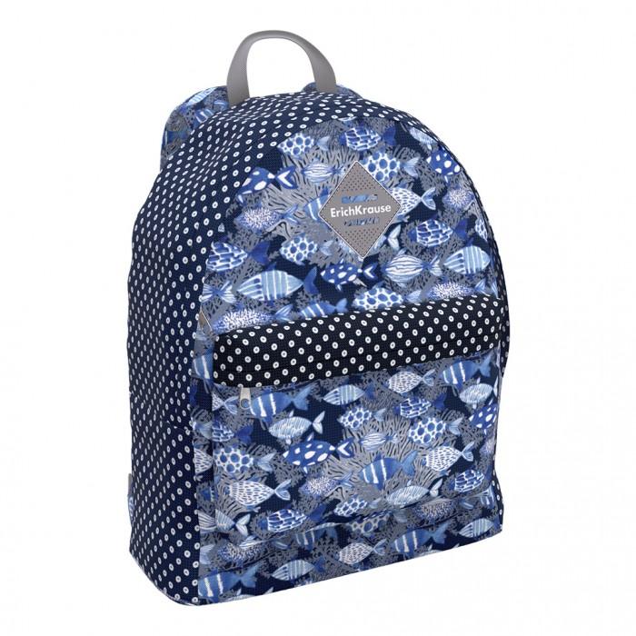 Купить Школьные рюкзаки, Erich Krause Рюкзак EasyLine Fish and Dots