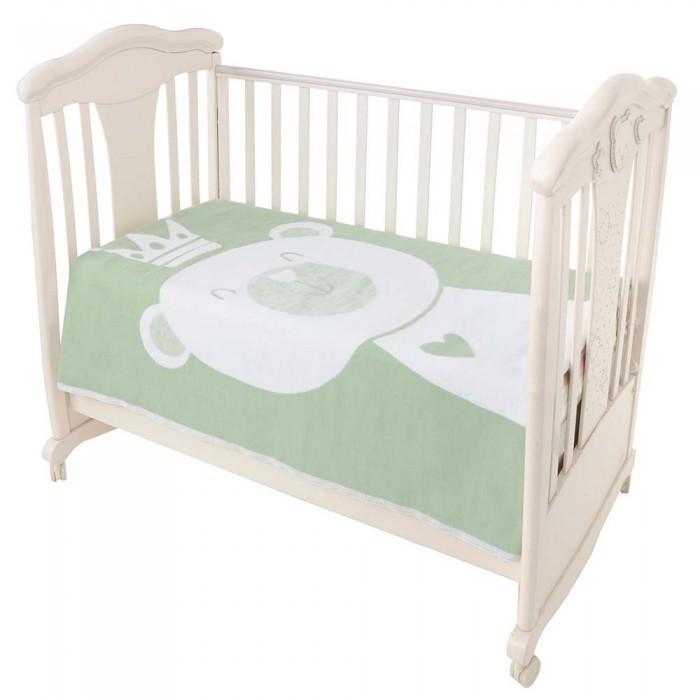 Одеяла Ермолино байковое премиум Омела мишка 140x100 см