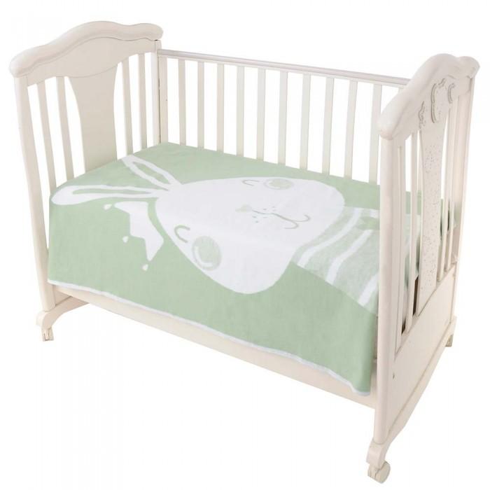 Одеяла Ермолино байковое премиум Омела зайка 140x100 см