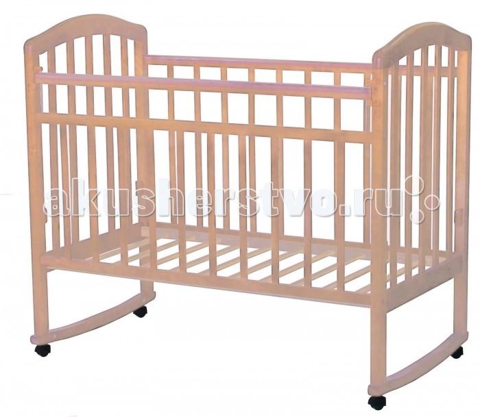 Детская кроватка Esperanza Martinа Decor №02 колесо, качалка
