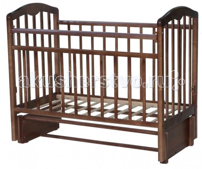 Детская кроватка Esperanza Martinа Decor №05 продольный маятник