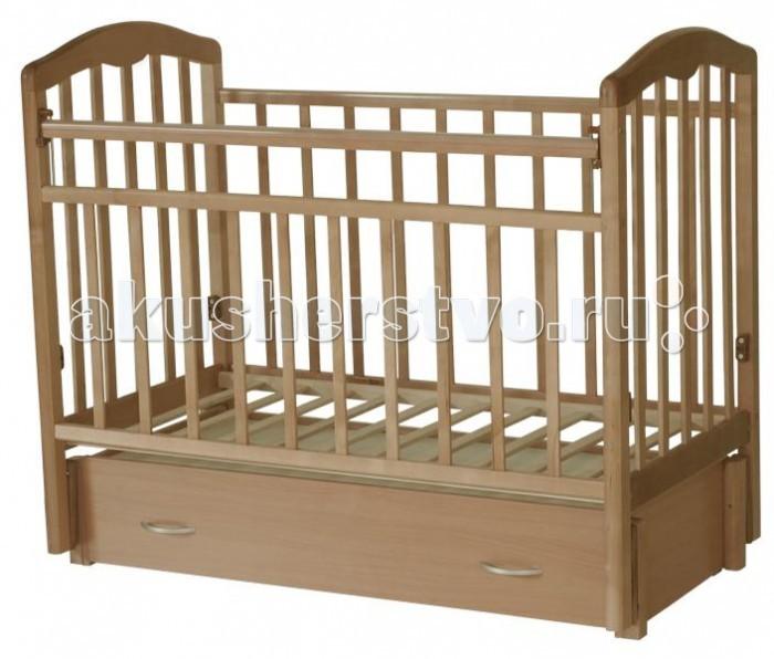 Детская кроватка Esperanza Martinа Decor №06 продольный маятник