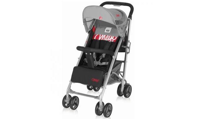 Прогулочная коляска Espiro MeyoMeyoПрогулочная коляска Espiro Meyo. Легкая прогулочная коляска прогулочная выполнена в стильном и современном дизайне в сочетании с самыми последними разработками «колясочной моды», что делает ее одной из самых популярных в своем сегменте.  Большие поворотные передние колеса с возможностью блокировки и мягкая подвеска с амортизаторами на всех колесах для легкого передвижения даже по неровной поверхности. Складной капюшон с окошком для присмотра за малышом.   Особенности: соответствует европейскому стандарту безопасности легкая алюминиевая рама большие поворотные передние колеса с возможностью фиксации амортизаторы на всех колесах тормоз, блокирующий одновременно оба задних колеса цельная ручка для удобного маневрирования складной капюшон с козырьком и окошком удобная, регулируемая до горизонтального положения спинка регулируемая подножка съемный бампер с разделителем для ножек пятиточечные ремни безопасности с мягкими накладками механизм, предотвращающий произвольное складывание большая корзина для покупок держатель для бутылочки на ручке легко складывается без необходимости снимать бампер удобная ручка для переноски сложенной коляски.  Размеры и вес: длина - 89 см ширина - 52 см высота -99 см длина в сложенном виде - 104 см ширина в сложенном виде - 31 см высота в сложенном виде - 40 см вес - 8.7 кг<br>