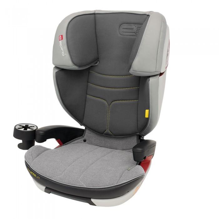 Автокресло Espiro Omega FXOmega FXАвтокресло Espiro Omega FX - безопасное автокресло с системой крепления Isofix.    Комфортное автокресло для детей весовых групп 2 (15-25 кг) и 3 (22-36 кг). Автокресло допущено к эксплуатации на основании соответствия европейской норме ECE R44/04 И производится на предприятии, имеющем сертификат ISO 9001  Особенности: Двойная защита головы благодаря применению дополнительных слоев энергопоглощающих материалов в подголовнике Широкие боковины автокресла дополнительно защищают плечи и туловище ребенка Система крепления isofix повышает безопасность и устойчивость автокресла, а благодаря регулируемой длине позволяет точно отрегулировать кресло к сиденью автомобиля Регулируемая высота подголовника и спинки - оптимальная регулировка под рост ребенка и вес маленького пассажира Регулировка наклона спинки - комфорт для спящего ребенка, перемешает центр тяжести тела ребенка назад и предотвращает опускание головы во время сна.  Спинка снимается, трансформируя сиденье в бустер. Эргономичные подлокотники Удобный подстаканник  Вес: 7.3 кг<br>