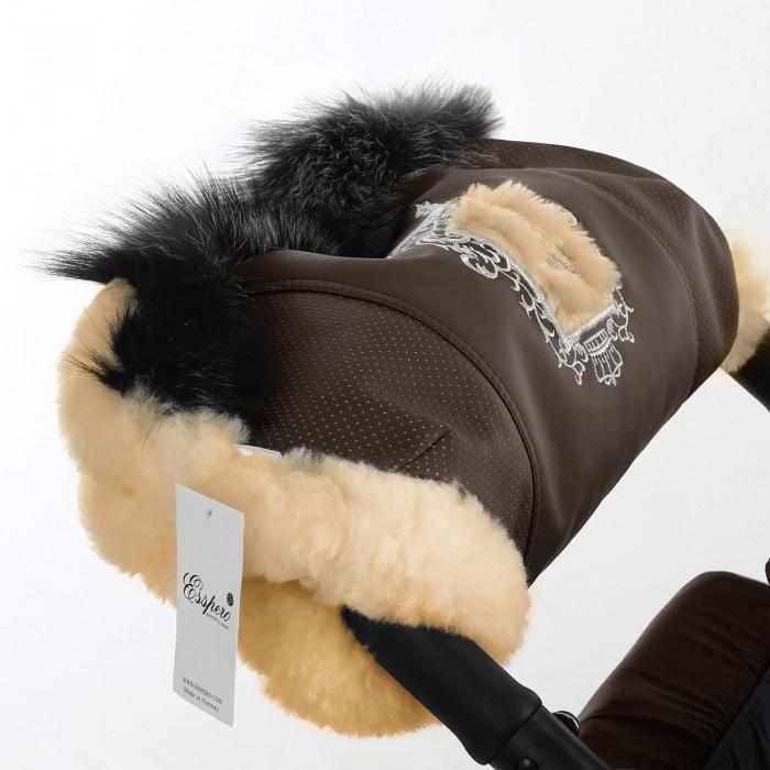 муфты для рук esspero муфта для рук на коляску gentle leatherette Муфты для рук Esspero Муфта для рук на коляску Amato ST