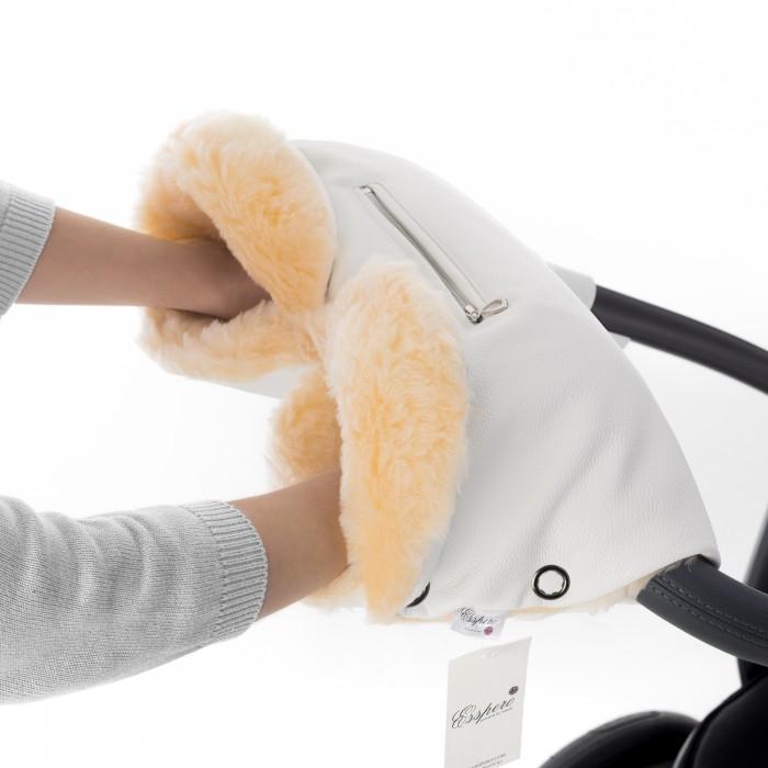 муфты для рук esspero муфта для рук на коляску gentle leatherette Муфты для рук Esspero Муфта для рук на коляску Isabella