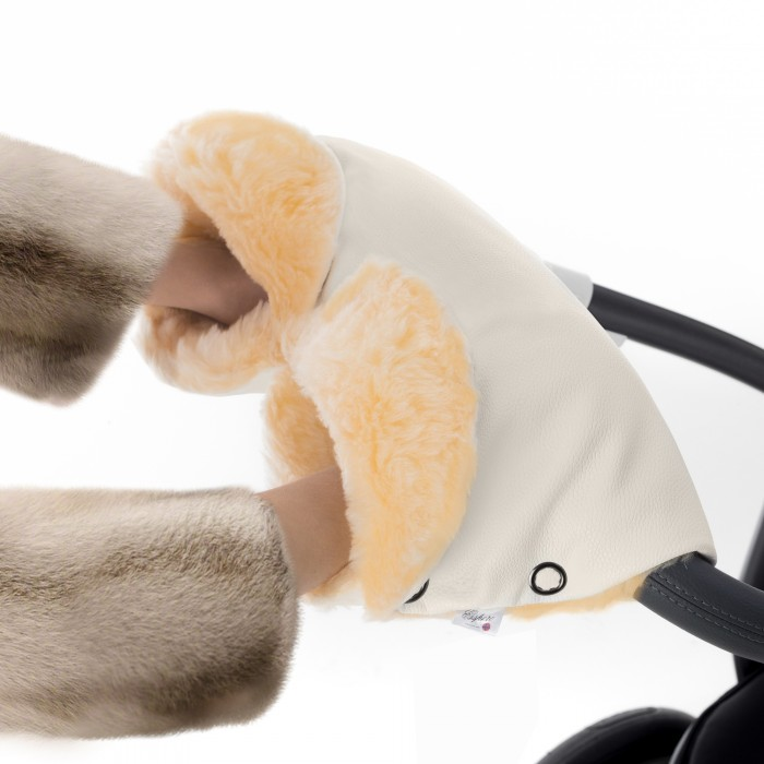 муфты для рук esspero муфта для рук на коляску gentle leatherette Муфты для рук Esspero Муфта для рук на коляску Linda