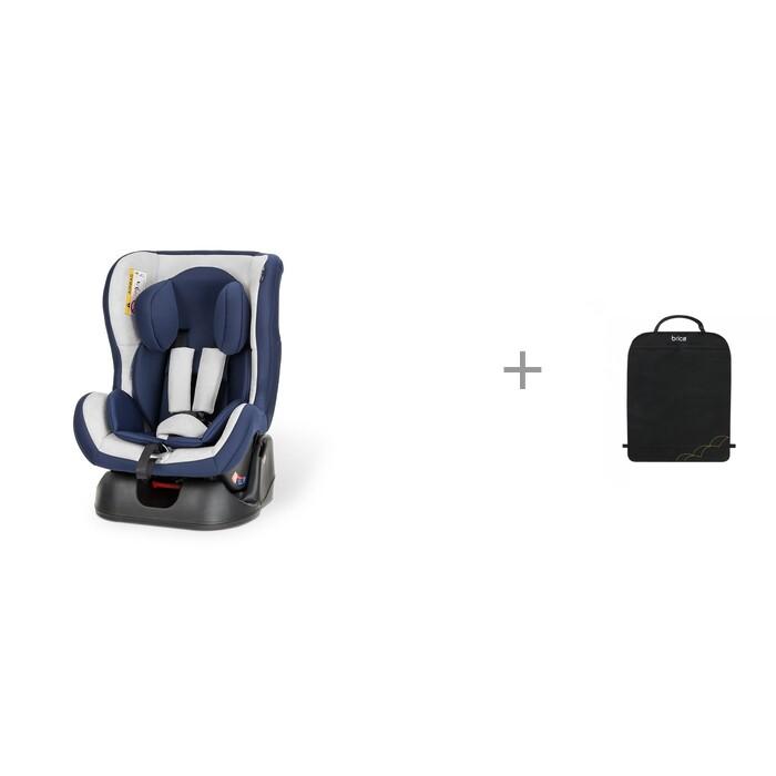 Картинка для Группа 0-1 (от 0 до 18 кг) Esspero Young-GS и защитный коврик на спинку передних автомобильных сидений Brica Munchkin