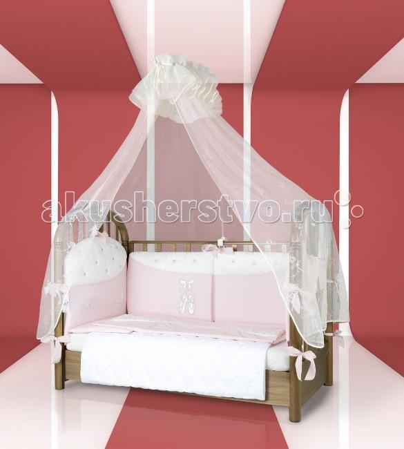 Комплекты в кроватку Esspero Balette (6 предметов) балдахин на кроватку esspero shine beige