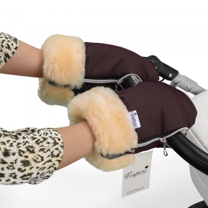 Муфты для рук Esspero Рукавички-муфта для коляски Double сумка для коляски esspero bag black 105378