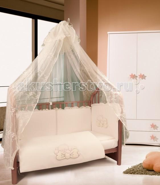 комплекты в кроватку esspero diamonds 6 предметов Комплекты в кроватку Esspero Gentle Bruin (6 предметов)