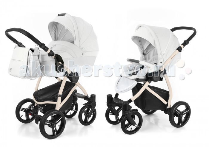 Коляски 2 в 1 Esspero Grand Newborn Lux 2 в 1 шасси Beige