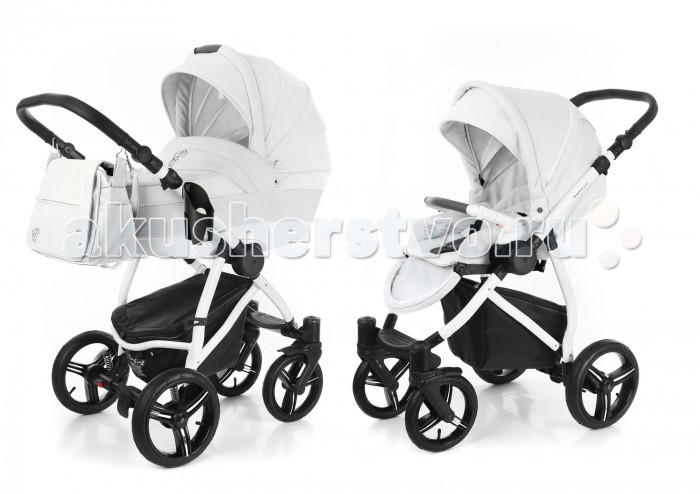 Коляски 2 в 1 Esspero Grand Newborn Lux 2 в 1 шасси White сумки переноски esspero люлька reverse