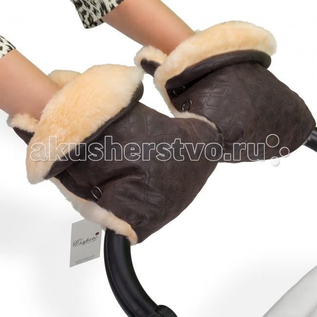 Муфты для рук Esspero Муфта-рукавички для коляски Carina зимние конверты esspero heir