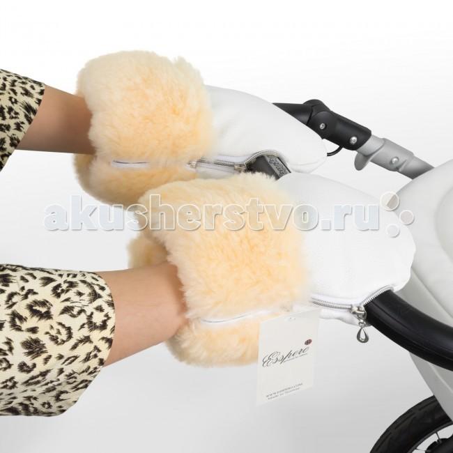 Муфты для рук Esspero Муфта-рукавички для коляски Double Leatherette esspero canopy
