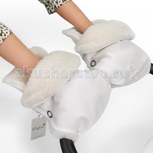 Муфты для рук Esspero Муфта-рукавички для коляски Margareta муфты для рук esspero муфта рукавички для коляски gretta