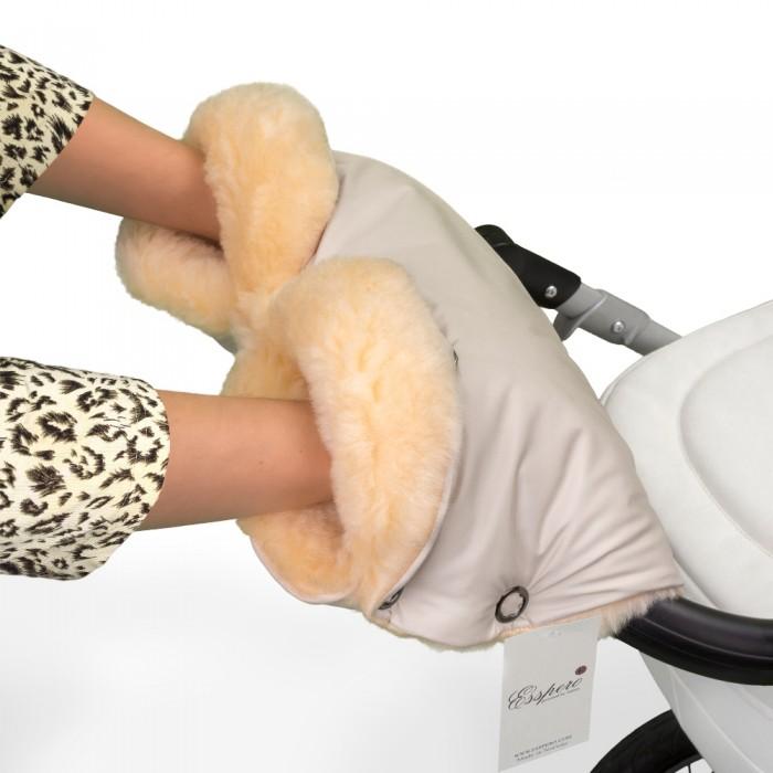 муфты для рук esspero муфта для рук на коляску gentle leatherette Муфты для рук Esspero Муфта для рук на коляску Diaz Lux